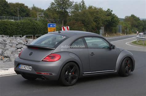 porsche volkswagen beetle spyshots volkswagen beetle r autoevolution