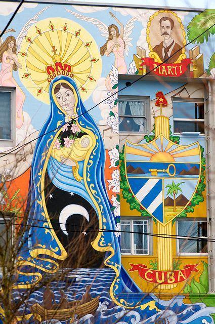 mary  christ cuban art street art graffiti
