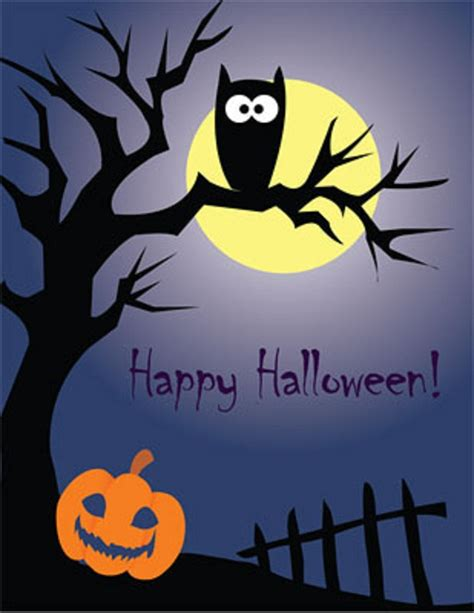 halloween printable greeting cards 8 best images of happy halloween printable cards free