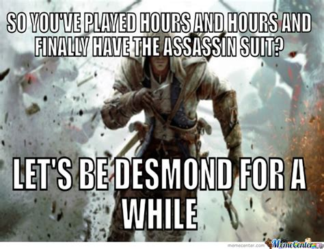 Assassin S Creed Memes - assassin creed by laurenz adjagba meme center