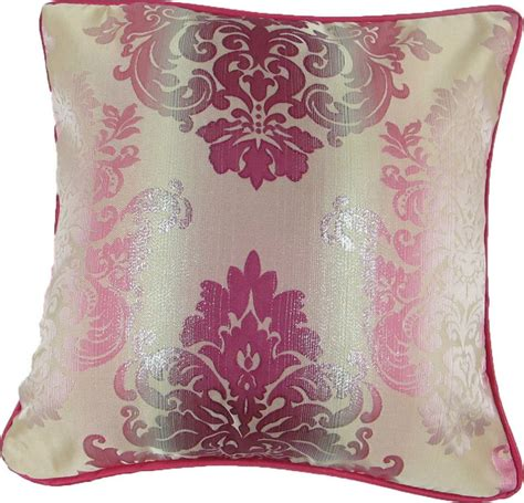 glitter wallpaper stockists glasgow glitter floral cushion pink colour faux silk