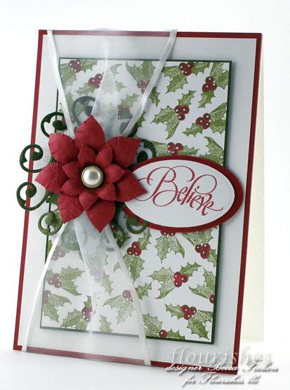 cards of concern during christmas 1000 images about poinsettia card ideas on crafting tag and spellbinders
