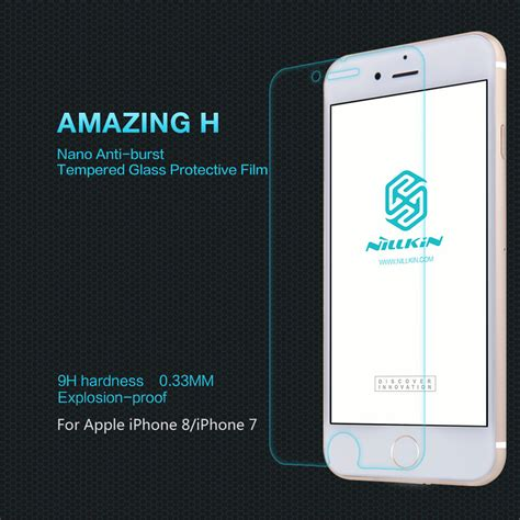 Nillkin Tempered Glass Amazing H Iphone 44s Clear nillkin amazing h tempered glass screen protector for