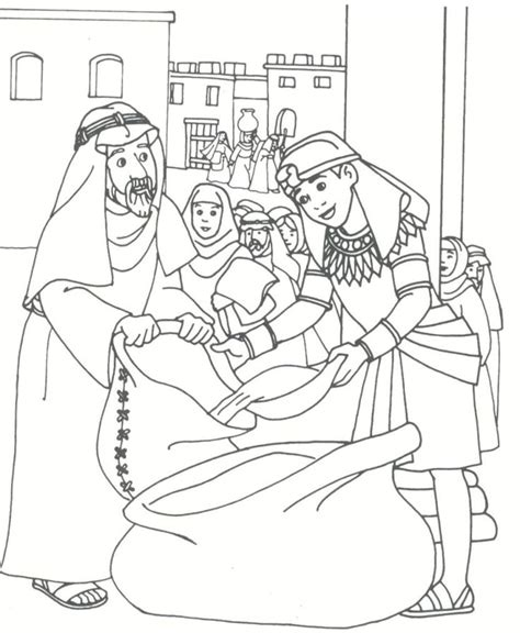 Coloring Pages And Joseph 163 Best Images About Bible Joseph On Pinterest Sunday by Coloring Pages And Joseph
