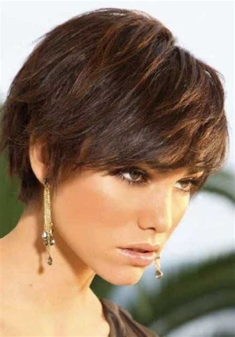 short layered hairstyles for thick hair short haircuts thick straight hair the best short