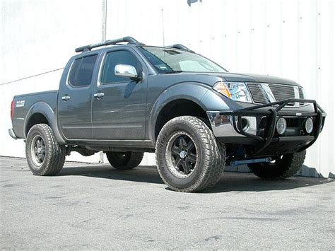 nissan frontier lift kit before and after suspension lift kit for 2005 2006 frontier nissan