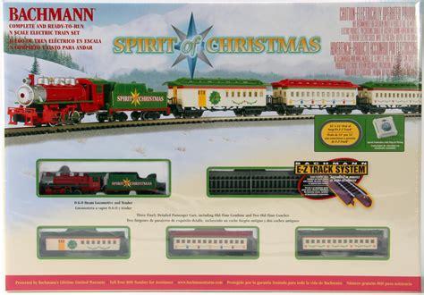 bachmann n 24017 spirit of christmas electric train set
