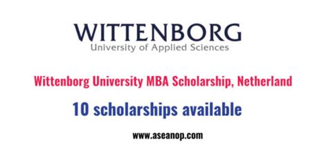 Executive Professional Mba Scholarships by Mba Archives Page 3 Of 6 Asean Scholarships Opportunities