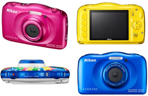 Kamera Nikon W100 nikon coolpix w100 wasserdicht sto 223 und bunt