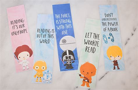 printable bookmarks star wars star wars bookmarks free printables for kids our