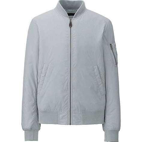 light bomber jacket mens ma 1 bomber jacket uniqlo us