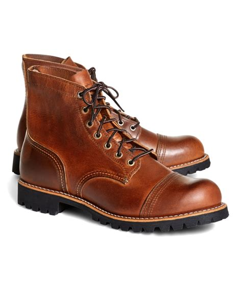 Red Wings Giveaways - men s red wing for brooks brothers 4556 iron ranger boots brooks brothers