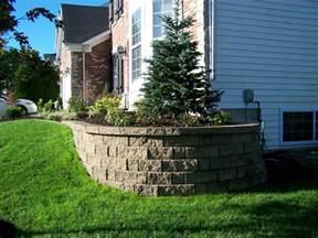 landscape retaining wall blocks block retaining walls landscaping st louis landscape