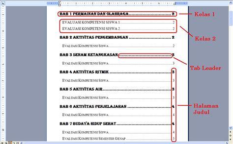cara membuat daftar isi otomatis di excel cara membuat daftar isi otomatis