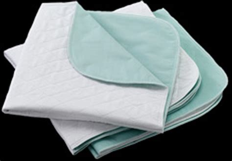 bed pads reusable bed pads from wearever that are reusable and washable with a cotton top in a generous