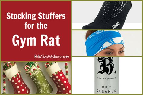 christmas gifts for gym rats 3 stuffers for the rat bite size wellness