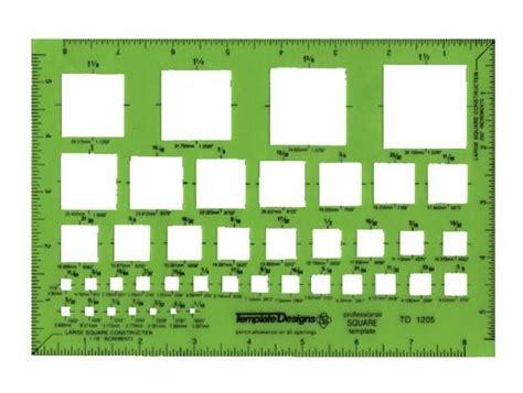 Template Pickett Squares Alvin Drafting Art Supply Com Pickett Drafting Templates