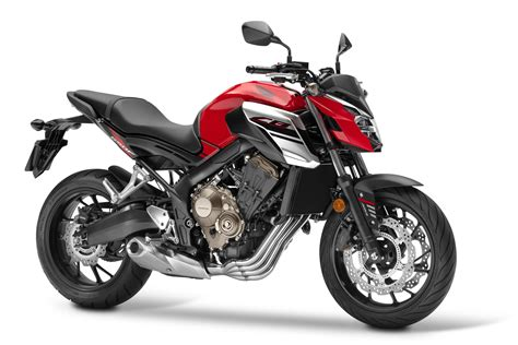 updated honda cb650f revealed visordown