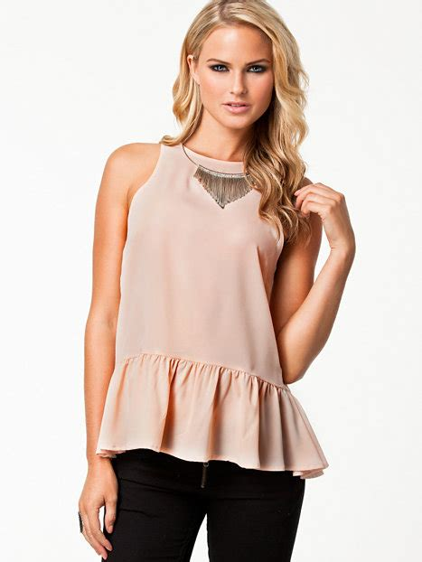 Vivia Top Pink V05 viva top nly trend dusty pink tops clothing nelly uk