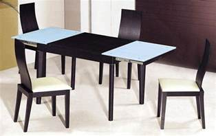 designer dining room tables extendable wooden with glass top modern dining table sets