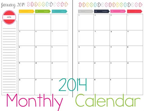 printable monthly calendar sheets calendar printable images gallery category page 39