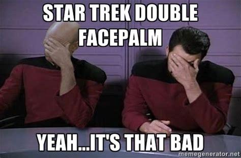 Star Trek Meme Generator - pics for gt star trek meme facepalm