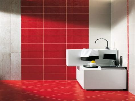 red and white tiles for bathroom white marble flooring designs pictures red and white