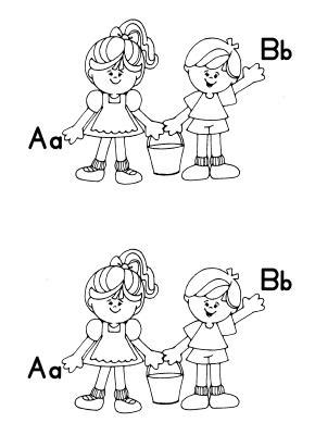 preschool coloring pages jack and jill jack and jill at the virtual vine