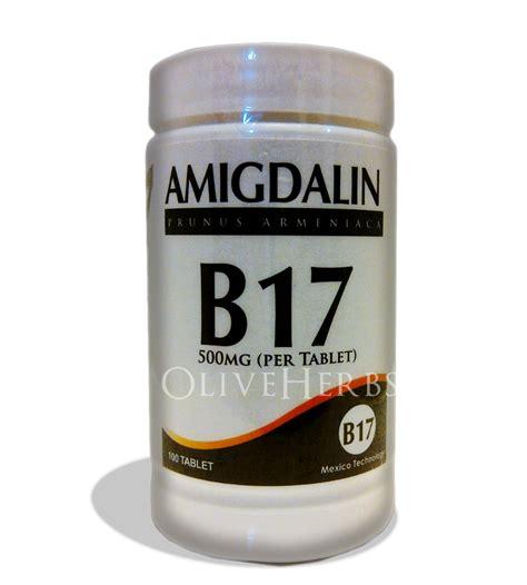 Vitamin B17 herbal alternative cancer b17 amigdalin 500mg tablet
