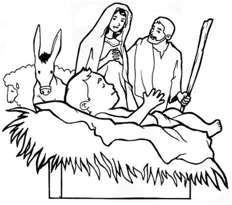 imagenes cristianas de navidad para colorear dibujos cristianos de navidad pesebre para colorear
