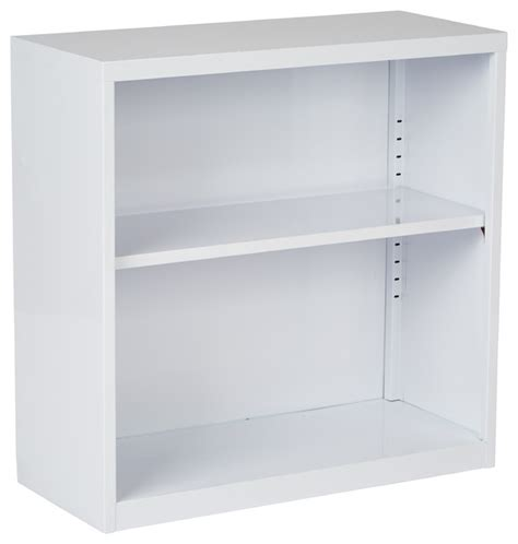 Bookcases Already Assembled metal bookcase in white finish ships fully assembled contemporary bookcases
