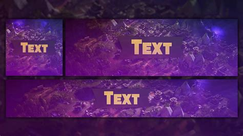 Free Gfx Fortnite Rev Template 2018 Photoshop Banner Avatar Header Youtube Fortnite Banner Template No Text
