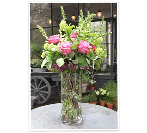 How To Arrange Roses In Vase by Flower Arranging By Vase Goop