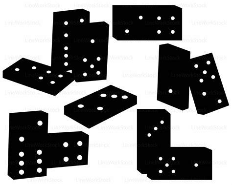 omino clipart dominoes svg domino clipart domino svg domino silhouette