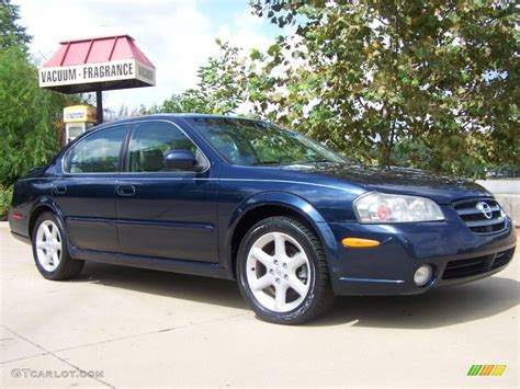 2002 majestic blue metallic nissan maxima se 20219661 gtcarlot car color galleries