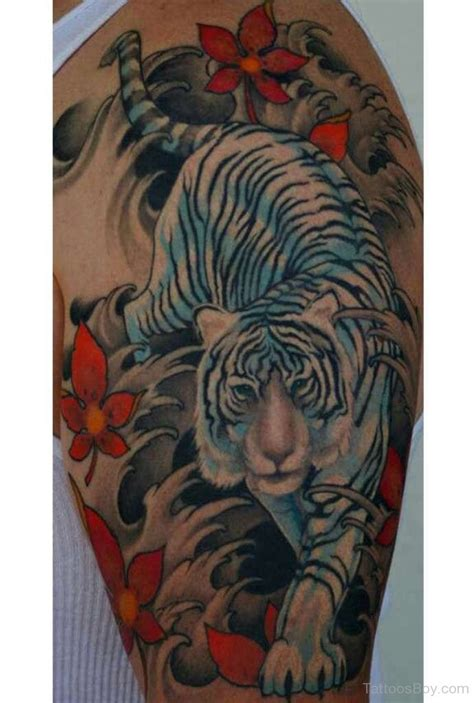 tiger sleeve tattoo designs tiger tattoos designs pictures