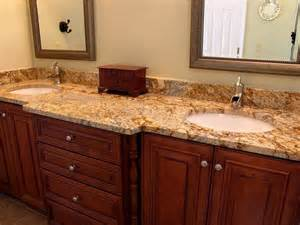 granite bathroom countertops with sink granite bathroom countertops with dual sinks amazing