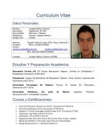 Curriculum Vitae Mexico curriculum vitae 2015