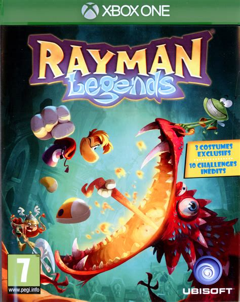 rayman legends xbox 360 cover rayman legends sur xbox one jeuxvideo com