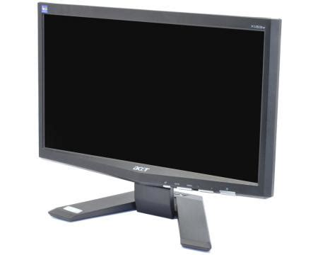 Monitor Acer 16 Inch Second acer x163w 16 quot widescreen lcd monitor grade a