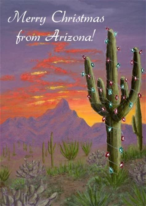 arizona christmas cards southwest christmas holiday