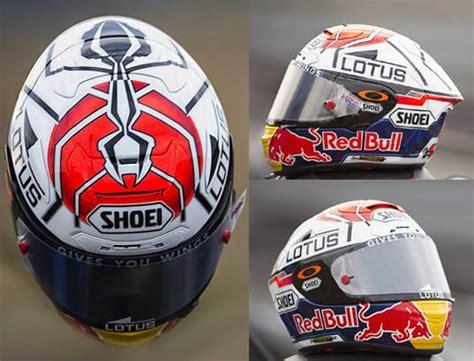 desain helm keren 9 desain helm keren marc marquez karya aldo drudi media2give