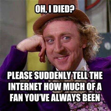 Gene Wilder Willy Wonka Meme - quello che gli altri non vedono