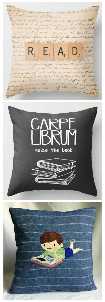 Reading Nook Pillows by Search For Bookish Throw Pillows Reading Room