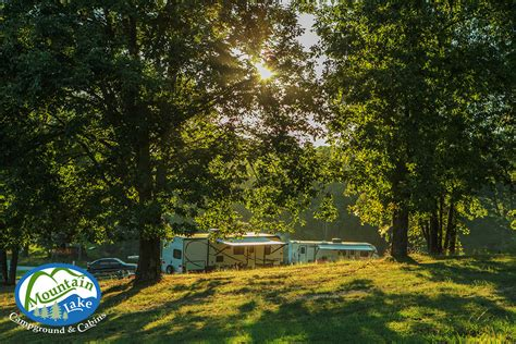 Cabins Summersville Wv by Stay With Us Mountain Lake Cground Rv Cabin Tent