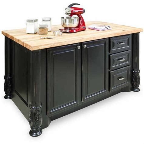 jeffrey alexander kitchen islands jeffrey alexander milanese kitchen island with hard maple