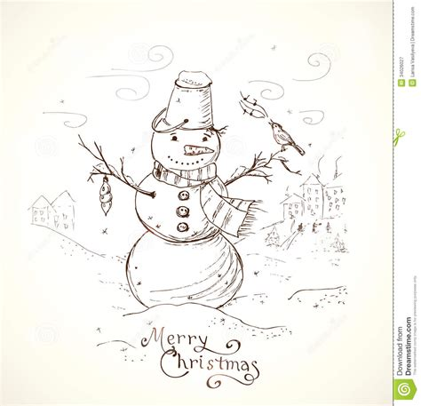 ideas on how to draw names for christmas card pencil and in color card