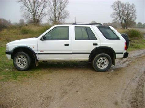 opel frontera lifted 2 quot body lift kit vauxhall opel frontera a series lwb ebay
