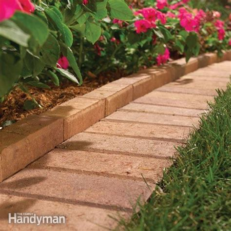 garden lawn edging ideas  install tips family handyman