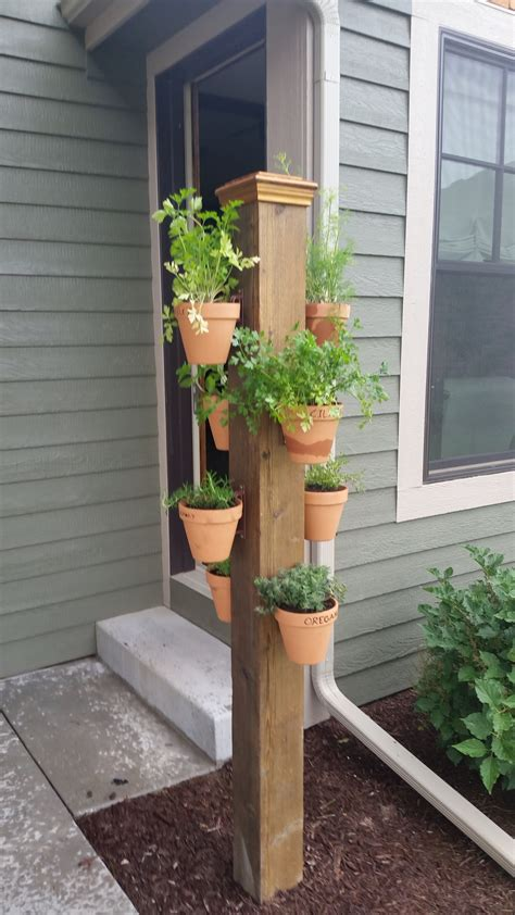 deck hangers outdoor hanging planters decorate pole